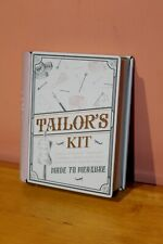 Marks & Spencer Tailor's Kit-Mini Sewing Gift; Cotton Reels/Tape Measure. BNWOT