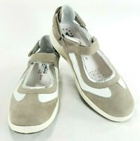 Mephisto Air Jet Genuine Leather Womens Mary Jane Shoes Shock Absorber Sz 10