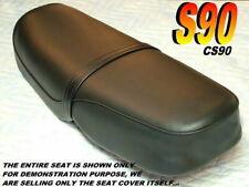 S90 & CS90 New seat cover Honda 1964-69 ALL BLACK 068A