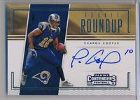 PHAROH COOPER - 2016 Contenders Rookie Round Up RPS AUTO - Rams RC