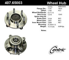 Wheel Bearing and Hub Assembly-RWD Front Centric 407.65003E