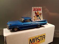 """Brooklin Chevrolet El Camino """" Elvis Presley """" BRK 46 code3 1/43"""