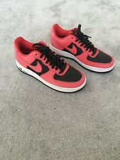 Nike Air Force 1 Low'07 anthracitenoirrouge tailles 6 13UK
