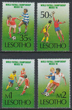 Lesotho 1986 ** Mi.565/68 Sport Fußball football World cup WM [st2690]