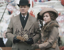 HELENA BONHAM CARTER Signed 10x8 Photo THE KINGS SPEECH COA