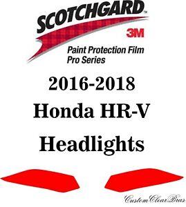 3M Scotchgard Paint Protection Film Pro Serie Fits 2016 2017 2018 Honda HR-V HRV