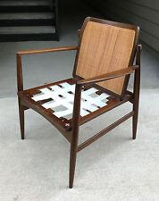 Ib Kofod Larsen Cane Back Chair Frame Danish Modern Selig Mid Century