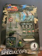 Die Cast Toy Truck Car Special Ops Racers. Military Vehicles Playset NIB