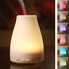 100ML LED Aromatherapy Humidifier Air Purifier Essential Oil Aroma Diffuser