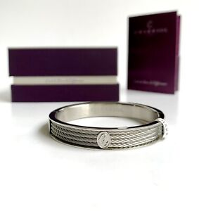 Charriol * Bangle Forever Thin 04-101-1139-6M Silver Stainless Steel Medium