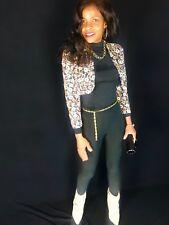 Couture Designer Craig Signer sequins beaded Matador bolero coat Jacket XS-S 0-2