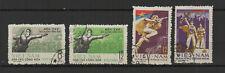 Vietnam du Nord 1969 Glorieuse victoire 4 timbres oblitérés /TR8418