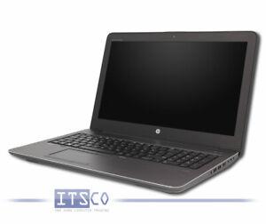 NOTEBOOK HP ZBOOK 15 G3 CORE i7-6700HQ 4x 2.6GHz 16GB RAM 256GB SSD
