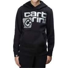 Carbrini Kids Black Silver Carlos Pullover Hoodie Size 13-15yrs