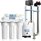 APEC Water Systems TO-SOLUTION-15 Whole House Water Filter, Salt Free Water Soft