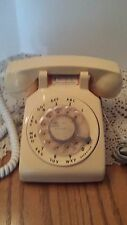 Rotary telephone Retro ITT Gold / Yellow Dial Desk  TESTED CLEAN Phone