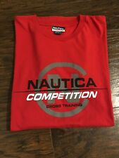 VTG 90's Nautica Competition Cross Training Made In USA Mens T-Shirt Sz XL