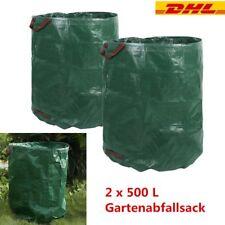 2x Gartensack 2x 272 Litre Gartenabfallsack Gartenabfallbehälter Gartentasche
