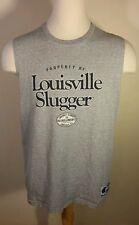 Vintage 80's 90's Louisville Slugger Baseball T Shirt Sleeveless Champion Large
