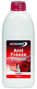Autochem Red Long-life Antifreeze & Summer Coolant 1 litre - ARD001
