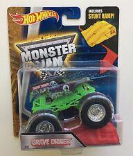 Grave Digger Hot Wheels 1:64 Monster Jam Truck Ramp Sealed Brand New