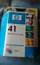 HP 41 TRI-COLOR InkJet Printer Ink  Expired 2006 NEW IN BOX sealed