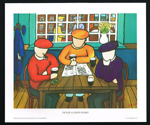 Never A Cross Word/Bar/N/Irish Art Group/Fine Print/Martin Laverty/Ireland/New