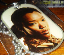 The Walking Dead Dog Tag Season 4 Sasha #14 of 36 with Sticker #11 -- 2015