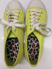 Women's Airwalk shoes Size 8.5 Yellow Euc Casual