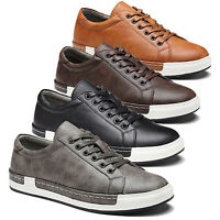 Men's Retro Sneakers Tennis Swiss Stefan Shoes Lace Up Casual Athletic Shoes