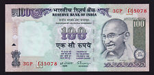 INDIA BANKNOTE 100 RUPEES GANDHI ND UNC P91B PLATE LETTER E 1996