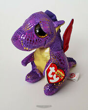 Ty Beanie Boos SPECTRA the Dragon - Michaels Exclusive - NEW - Very Near MWMT