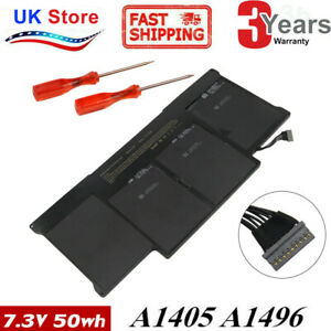 "For Apple MacBook Air 13"" A1466 2013/2014/2015 Battery A1496"