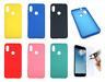 Cover Custodia Rigida in Silicone Ultra Morbida Per Xiaomi Redmi Note 6 / PRO