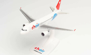 Herpa Wings Chair Airlines Airbus A319 HB-JOH 1/200 612685