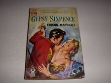 Gypsy Sixpence by Edison Marshall, Dell Book #D103, 1949, Vintage Paperback!