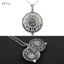 Pad Locket Pendant DIY Necklace Fragrance Aromatherapy Essential Oil Diffuser #20