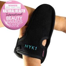 Exfoliating Body Scrub Exfoliator Glove Eraser Mitt Loofah Bath Shower Black