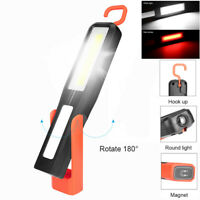COB LED Magnetic Work Light Car Garage Mechanic Home Rechargeable Torch Lampe