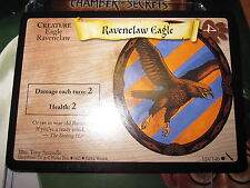 HARRY POTTER TCG GAME CARD CHAMBER OF SECRETS RAVENELAW EAGLE 124/140 COM EN