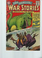 Star Spangled War Stories #122 (DC 1965) VG+ 5.0 Dinosaur Issue 12 cent cover