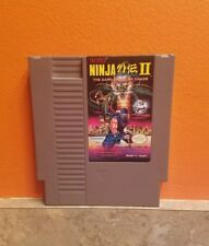 NINJA GAIDEN II 2 THE DARK SOWARD OF CHAOS -- NES Nintendo Original Game