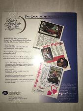 "Creative Memories White Ruled 8x10 8""x10"" Pages 15 Sheet Scrapbook Album RCM-10R"