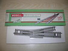 PILZ Gleis 85184 H0m H0 HO 1:97 - Dreischienenweiche Schmalspur/Regelspur links