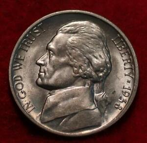Uncirculated 1938-S San Francisco Mint Jefferson Nickel