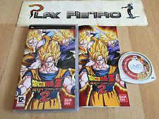 PSP DRAGON BALL SHIN BUDOKAI 2 COMPLETO PAL ESPAÑA