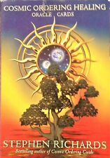Cosmic Ordering Healing Oracle Cards by Stephen Richards + Guidance Booklet Rare