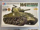 Rare, NEW IN BOX TAMIYA M4 (Howitzer) SHERMAN TANK  RC 1-16 SCALE