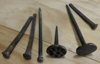 Antique Hammered Iron Nails - Asia - Nepal Possibly India