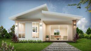 granny flat Prefabricated Modular system 60 sqm material only kit home package,